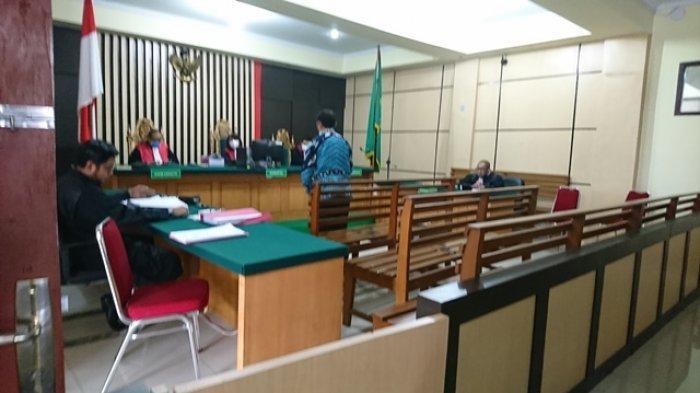 Saefudin Zuhri Terdakwa Korupsi LPJU Kabupaten Tebo Dituntut 4,6 Tahun Penjara