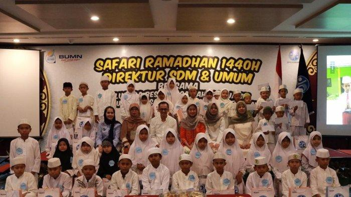 Safari Ramadhan 1440 H Direktur SDM & Umum Jasa Raharja Bukber Anak Binaan Yayasan Insan Madani