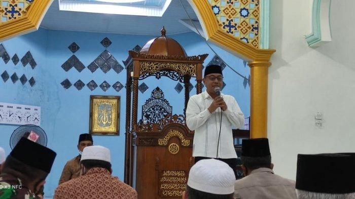 Plh Bupati Tanjabtim Safari Ramadhan ke Masjid Agung Darul Nurul Iman, Mendahara Ilir