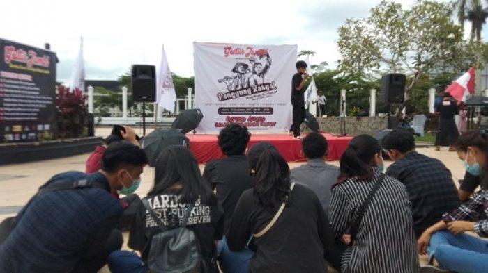 Sambut Hari Tani, GESTUR Jambi Gelar Aksi Panggung Rakyat di Depan Kantor Gubernur Jambi