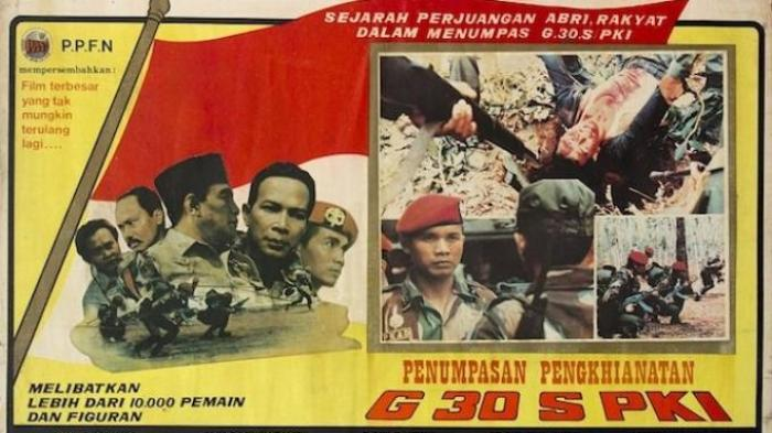 Sampul Film Pengkhianatan G 30 S PKI .
