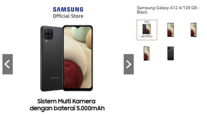 Harga Samsung Galaxy A12 Hari ini, Lengkap dengan Spesifikasinya