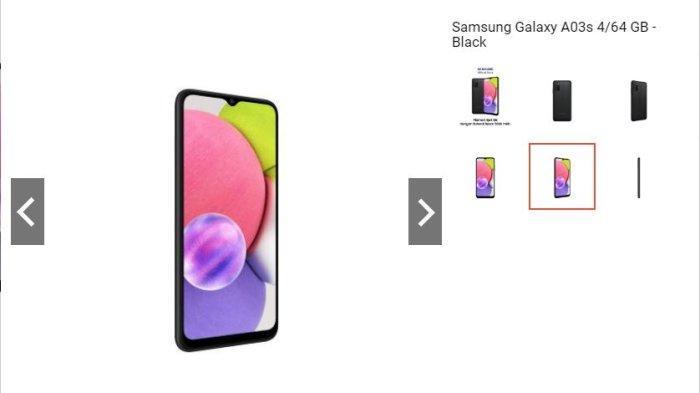 Harga Hp Samsung Galaxy A03S Lengkap dengan Video Cara Screenshotnya