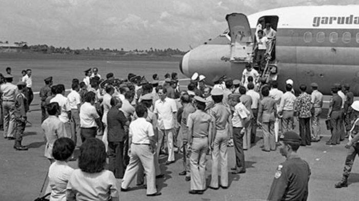 Kisah Heroik Pasukan Sandi Yudha Bebaskan Sandera Pesawat, Cukup 2 Menit 49 Detik