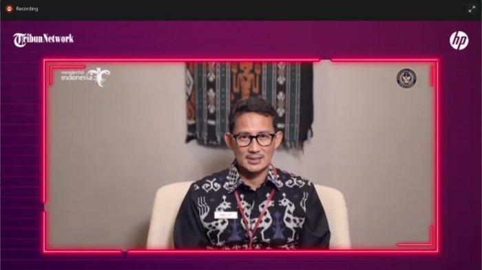 Sandiaga Uno akan menjadi pembicara di webinar UMKM yang diadakan Tribun Jambi