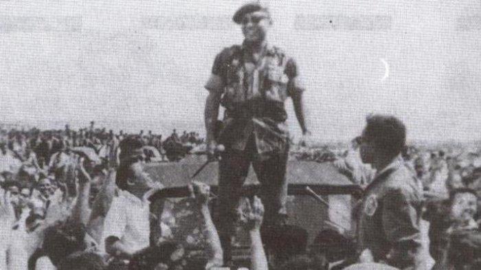 Tumpas G30S PKI, Sarwo Edhie Wibowo Pimpin Aksi Kopassus Rebut RRI Hingga Pangkalan Udara Halim