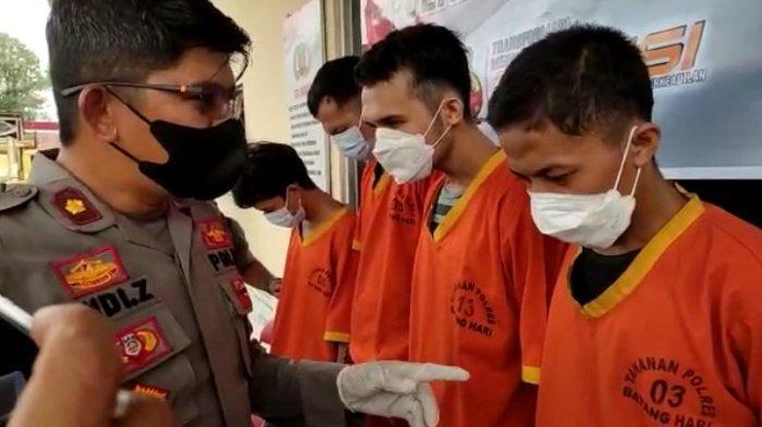 Polisi Gagalkan Transaksi Ganja di Batanghari, Hasil Pengembangan Empat Pelaku Ditangkap