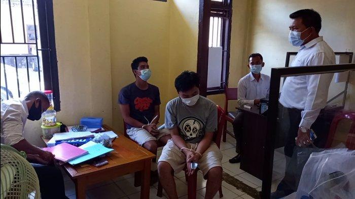 Satresnarkoba Polres Tebo Bekuk Dua Pemilik Narkoba Warga Tebo Tengah