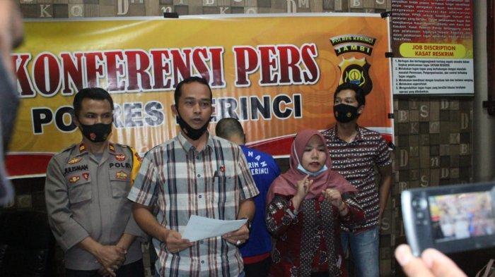 BREAKING NEWS Warga Kerinci Satrio Tersangka Gelapkan Uang Nasabah Rp393 juta untuk Judi Online