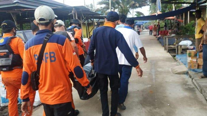 36 Jam Pencarian, Akhirnya Kedua Korban Tenggelam di Sungai Pengabuan Tanjabbar Ditemukan
