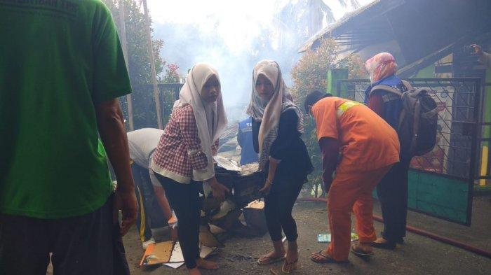 Pasca Kebakaran Tahun 2020, Proses Pembelajaran di SDN 175 Kota Jambi Mulai dari Nol