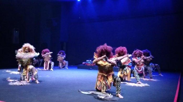 Wiroyudo Tak Mampu Lawan Siluman, di Pentas Seni Nusantara, Taman Budaya Jambi 15-24 Maret
