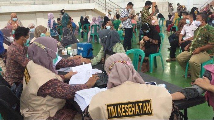 Pemkab Batanghari Percepat Vaksinasi Covid-19, Sebanyak 500 Orang Disuntik di BSC Muara Bulian