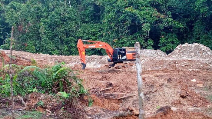 Sempat Berhenti Saat Kapolda Jambi Datang, Aktivitas PETI di Desa Batu Kerbau Kini Mulai Lagi