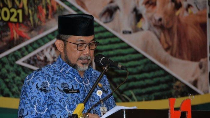 Sambutan Sekda Sudirman Depan Pimpinan OPD, 2022 Prioritaskan Sektor Pertanian Jambi
