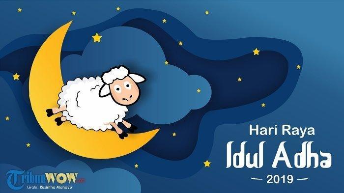 Kumpulan Ucapan Selamat Hari Raya Idul Adha 2019 Berikut Cara Bikin Ucapan Video Youtube Eid Al-Adha