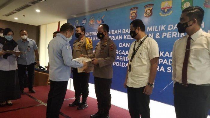 Selamatkan 764 Ribu Benur,Polres Tanjabbar Raih Penghargaan dari Kementerian Kelautan dan Perikanan