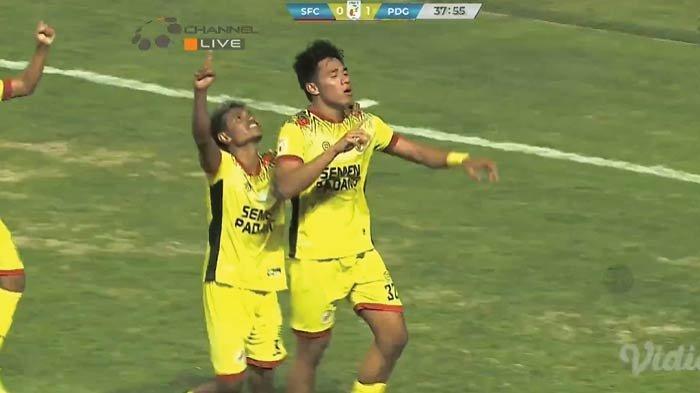 Hasil Sriwijaya FC vs Semen Padang, Rocky Cetak Gol, Laskar Wong Kito Tertekan