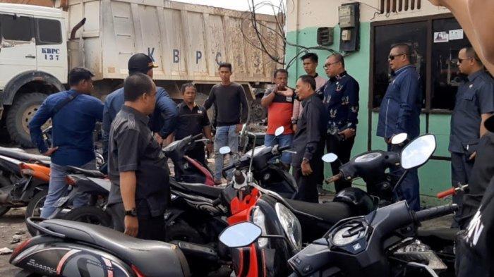 Sempat Dihalangi Dikira Mau Demo, DPRD dan Jajaran OPD Bungo Terobos Stockpile Batu Bara PT KBPC