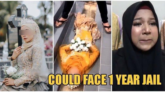 Wanita Ini Terancam Mendekam di Penjara Gara-gara Pemotretan di Pemakaman,Meski Sudah Minta Maaf!
