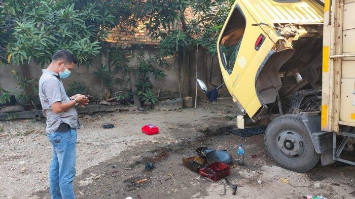 Seorang Mekanik di Kota Jambi Tewas Dilindas Truk yang Diperbaikinya, Sopir Diamankan Polisi
