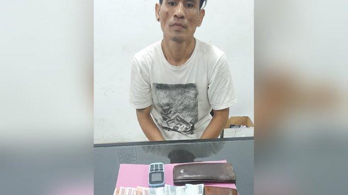 Napi Lapas Sabak Kendalikan Sepasang Kekasih Edarkan Sabu, Digerebek Polda Jambi 13 Paket Diamankan