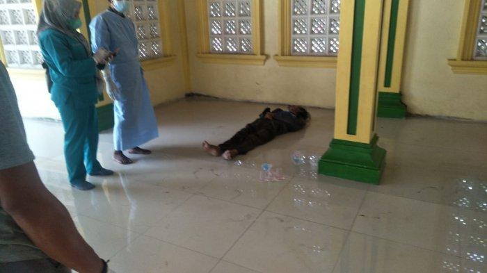 Tiga Hari Diam di Teras Masjid Pria Ini Tiba-tiba Meninggal, Sempat Minta Air ke Pengurus Masjid