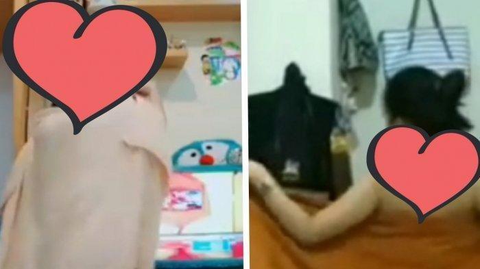 VIRAL Video Panas Seorang Wanita Menyeka Tubuhnya Pakai Handuk Setelah Mandi, Ada Suara Pria