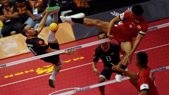 Saiful Rijal Dkk Vs Jepang, Peluang Tambah Emas di Final Sepak Takraw Asian Games 2018