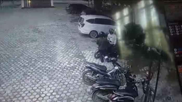 Hanya Hitungan Menit, Sepeda Motor Pegawai Dispenda Muarojambi Raib Dibawa Maling