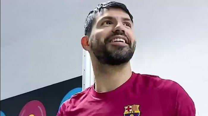 Sergio Aguero Tegaskan Tidak Menyesal Bergabung Dengan Barcelona, Meski Tanpa Lionel Messi