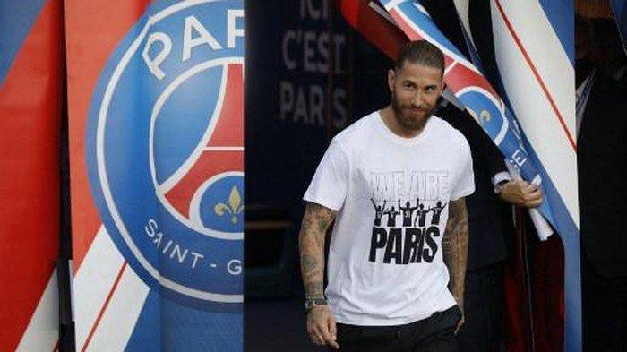 Sergio Ramos Akhirnya Jalani Debut di PSG Melawan Angers, Simak Jadwal Penampilannya
