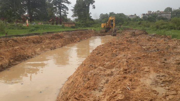 Sering Tergenang Banjir, Drainase di Perumahan Perbatasan Kota Jambi dan Muarojambi akan Diperbaiki