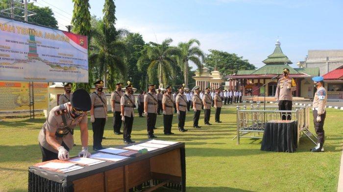 Daftar Perwira Polres Merangin yang Sertijab Hari Ini