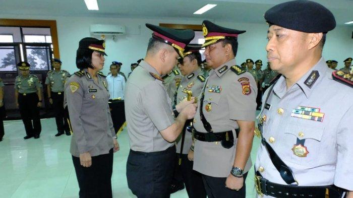 Kapolda Jambi Pimpin Upacara Sertijab 4 Pejabat Utama Polda Jambi dan Kapolres Tebo