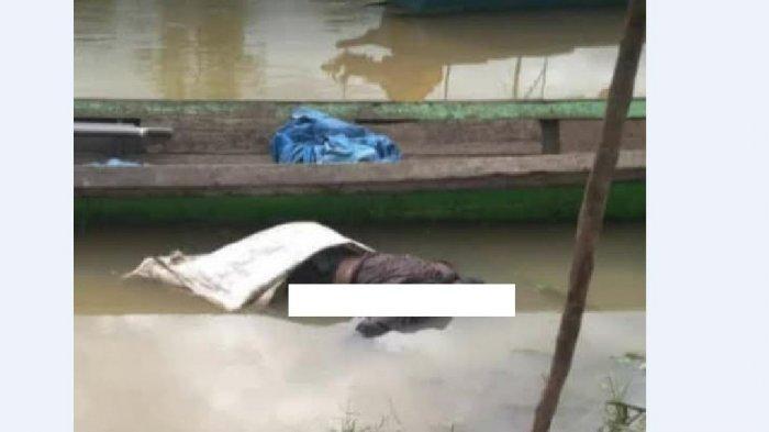 Mayat dengan Dandanan Necis Mengapung di Sungai Batang Jujuhan, Ditemukan Pagi Ini