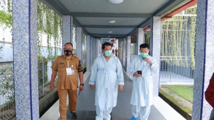 BREAKING NEWS Sehari Setelah Daftar Pilkada Bungo, SZ-EMH Pemeriksaan Kesehatan