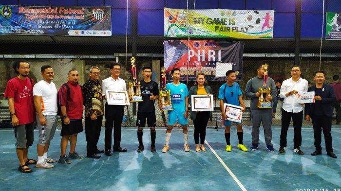 PHRI Jambi Gelar Liga Futsal Hotel Se-Provinsi Jambi, Meriahkan HUT Ke-50 PHRI dan HUT Ke-74 RI