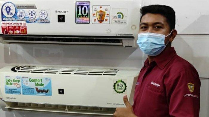 Teknologi Penghilang Virus Corona dari SHARP, Pembersih Udara Harga Mulai Rp2,5 Juta