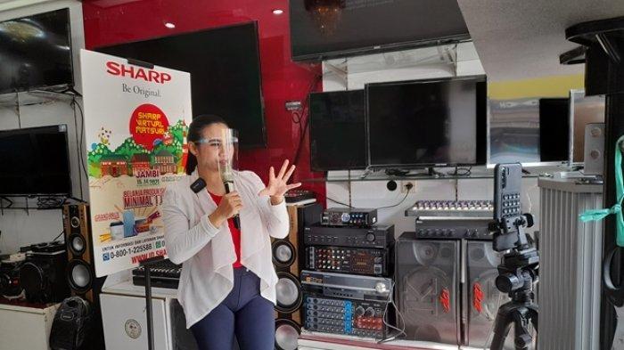 Sharp Virtual Matsuri Tawarkan Produk Elektronik Harga Miring