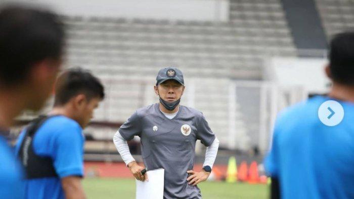 Persiapkan Timnas Indonesia Jelang Lawan Taiwan Leg 2, Shin Tae-yong Matangkan Pemain