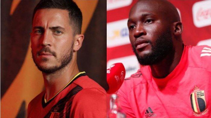 Siaran Langsung Belgia Vs Italia Tayang Pukul 20.00 WIB di Mola TV, Eden Hazard dan Lukaku Absen