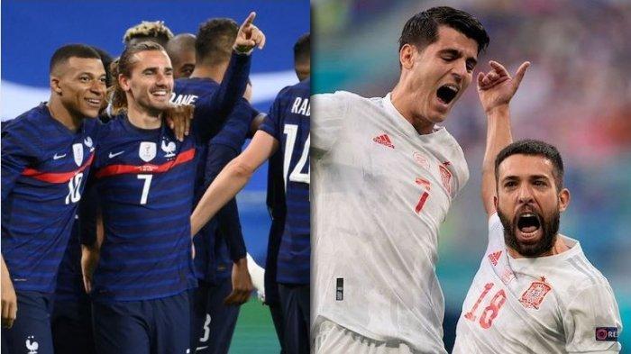 BIG MATCH! Preview Siaran Langsung dan Prediksi Spanyol vs Perancis Final UEFA Nations League