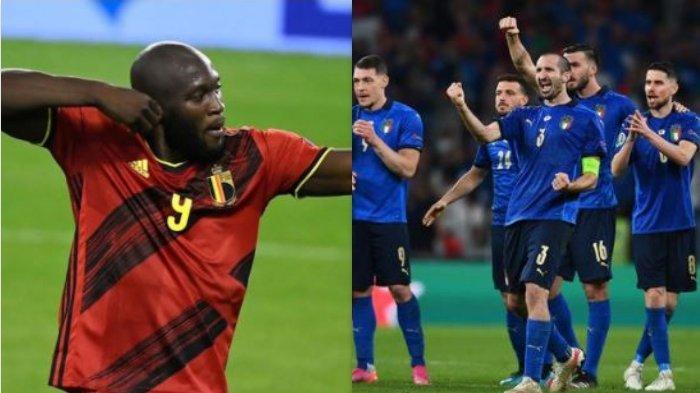 Siaran Langsung Italia Vs Belgia di Mola TV, Prediksi Final Perebutan Juara 3 UEFA Nations League