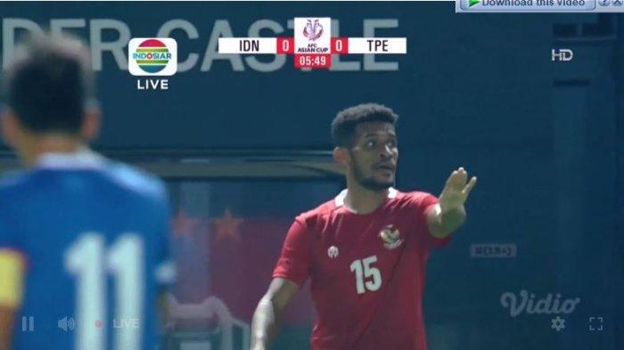 Sedang Tanding Siaran Langsung Timnas Indonesia vs Taiwan Babak Play-off Kualifikasi Piala Asia