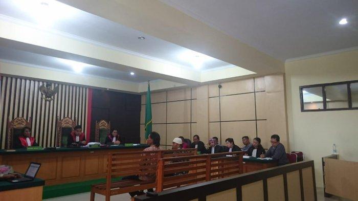 Sidang Dugaan Korupsi Embung Sungai Abang, Saksi Menangis Sampaikan Keterangan