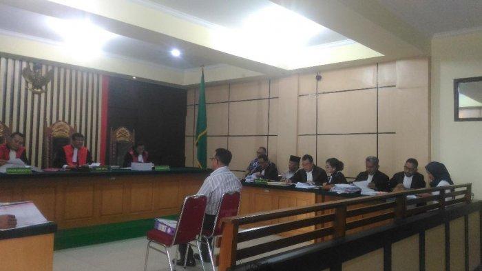 Sidang Perkara Dugan Korupsi Perumahan PNS Sarolangun, Saksi Ahli BPK Beri Keterangan