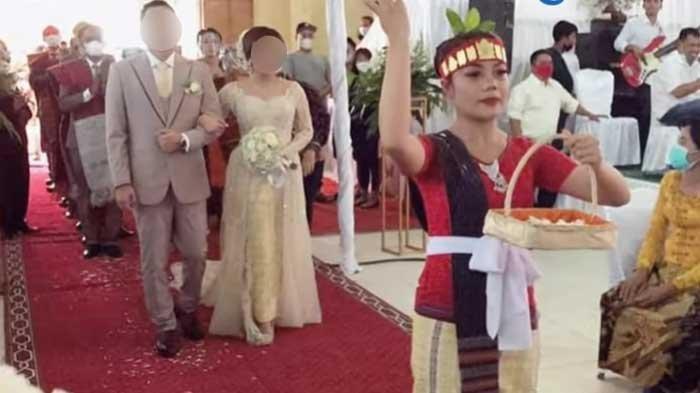 Viral Pernikahan Mewah dengan Sinamot Rp 1 Miliar di Tapanuli Utara, Pengantin Anak Perwira Polisi