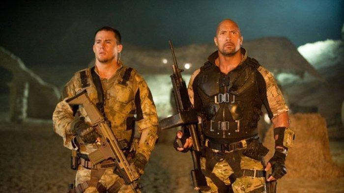 Sinopsis Film di Bioskop TRANS TV, 'G.I. Joe: Retaliation' yang Dibintangi Channing Tatum & The Rock