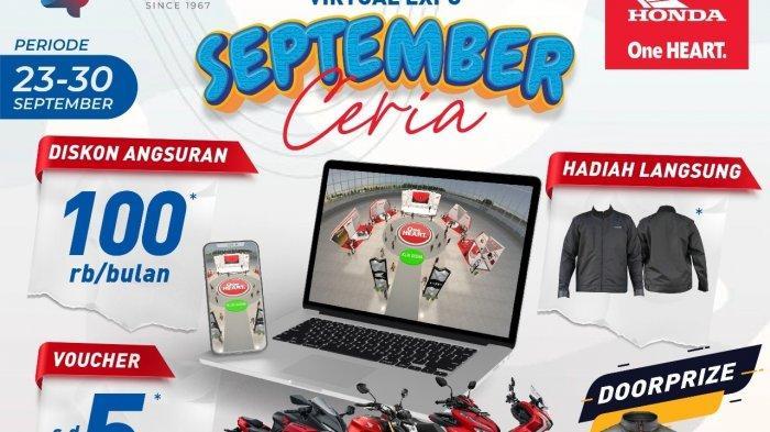 Info Honda Jambi, Sinsen Gelar Honda Virtual Expo September Ceria dengan Beragam Promo Menarik